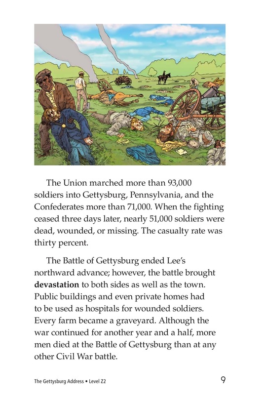 Book Preview For The Gettysburg Address Page 9