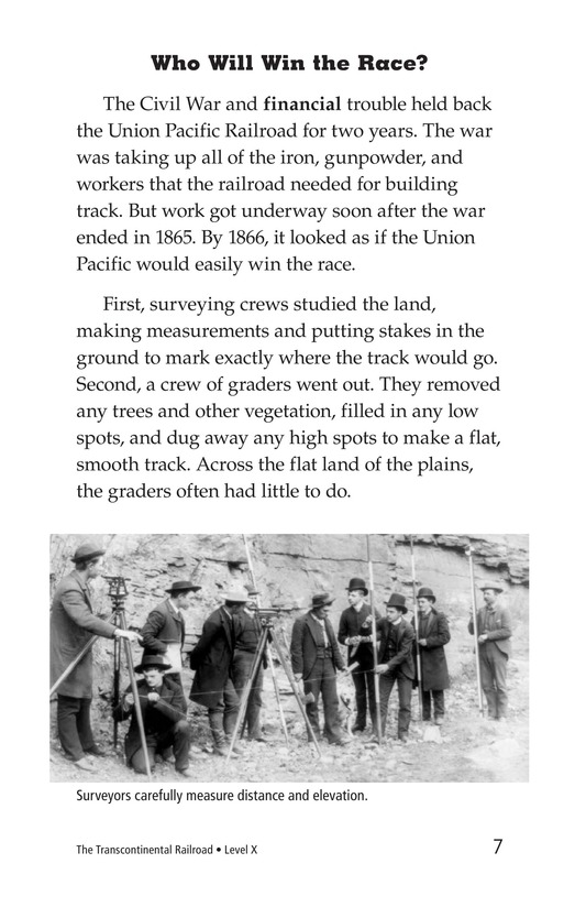Book Preview For The Transcontinental Railroad Page 7