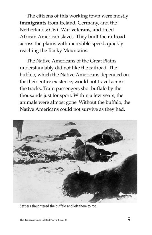 Book Preview For The Transcontinental Railroad Page 9