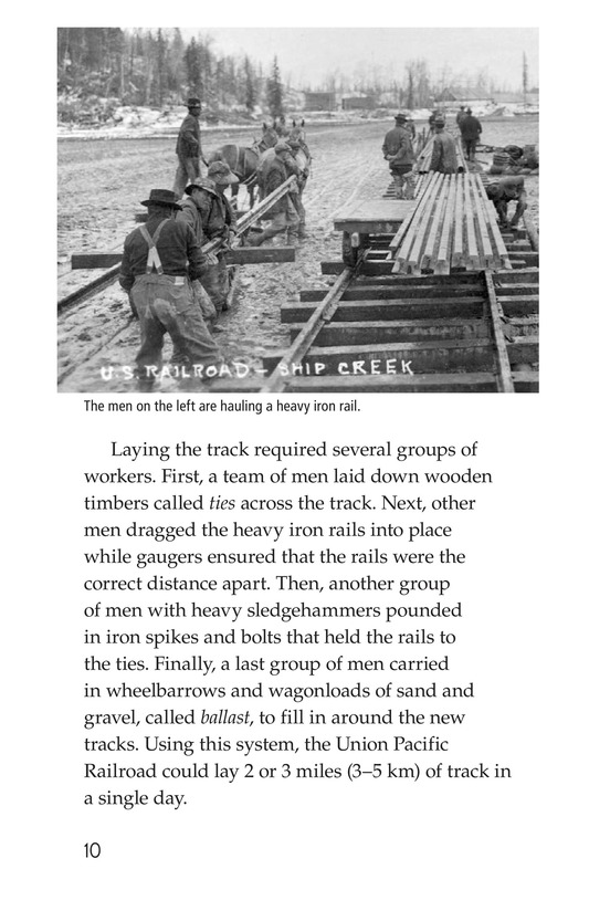 Book Preview For The Transcontinental Railroad Page 10