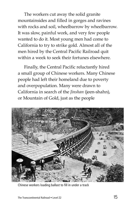 Book Preview For The Transcontinental Railroad Page 15