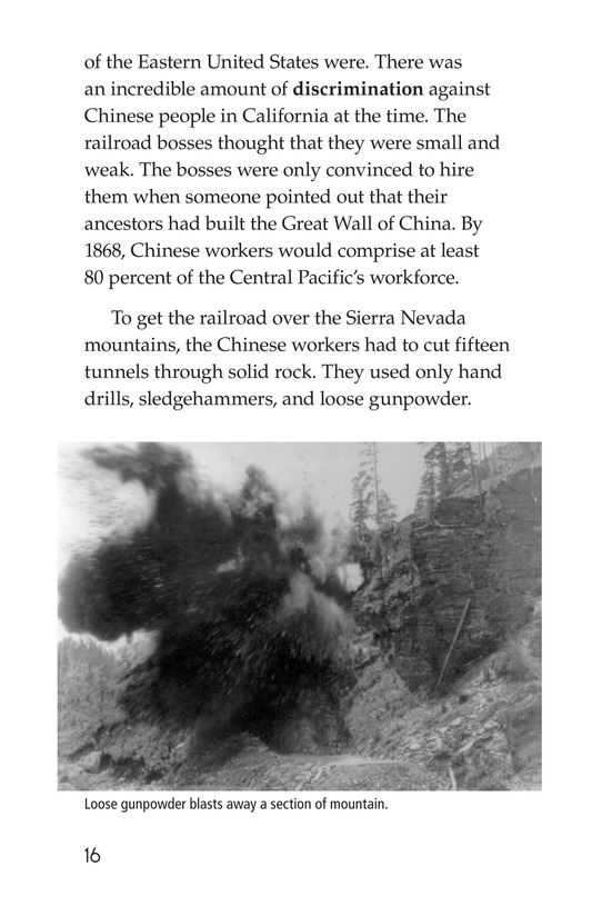 Book Preview For The Transcontinental Railroad Page 16