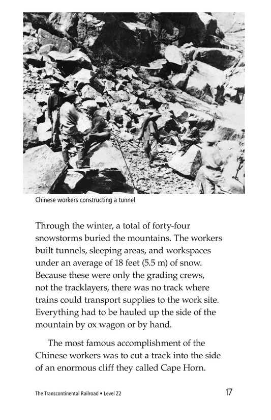 Book Preview For The Transcontinental Railroad Page 17
