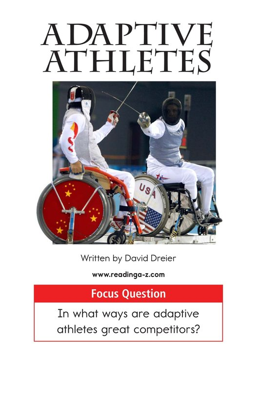 Book Preview For Adaptive Athletes Page 1