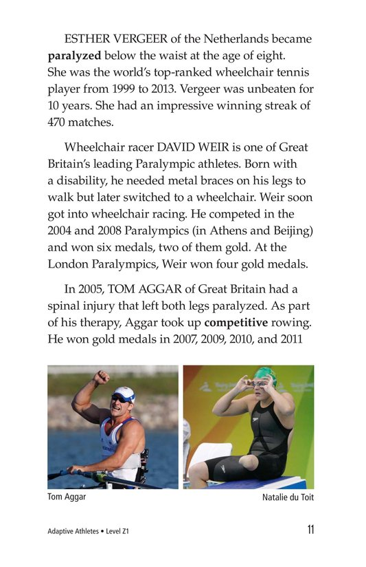 Book Preview For Adaptive Athletes Page 11