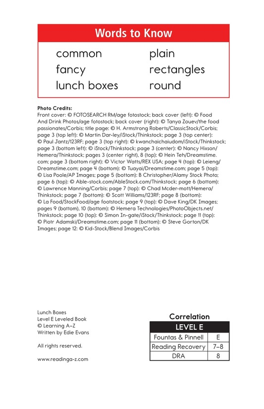 Book Preview For Lunch Boxes Page 2