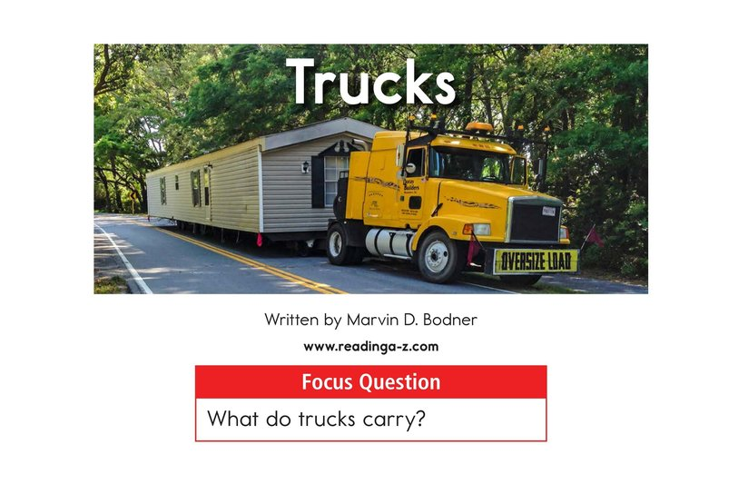 Book Preview For Trucks Page 1