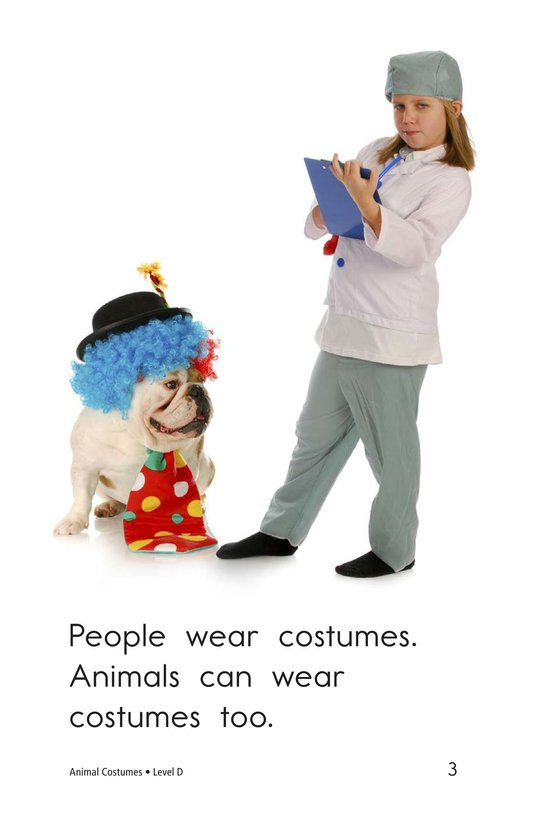Book Preview For Animal Costumes Page 3