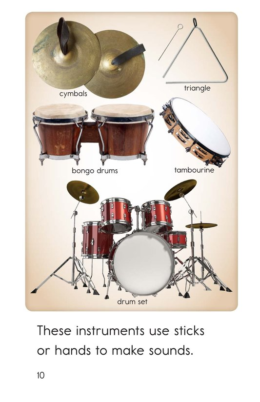 Book Preview For All Kinds of Musical Instruments Page 10