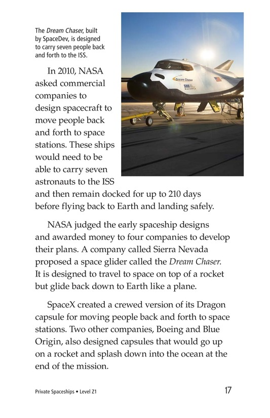 Book Preview For Private Spaceships Page 17