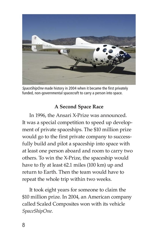 Book Preview For Private Spaceships Page 8