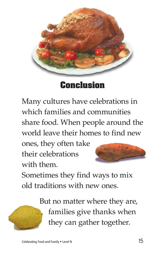 Book Preview For Celebrating Food and Family Page 15