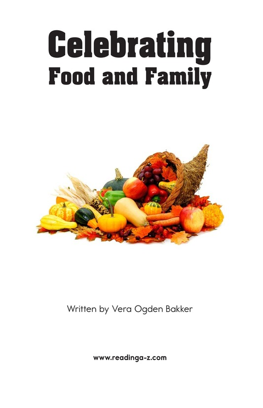 Book Preview For Celebrating Food and Family Page 2
