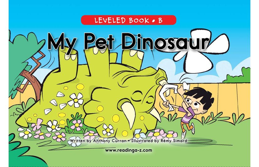 Book Preview For My Pet Dinosaur Page 0