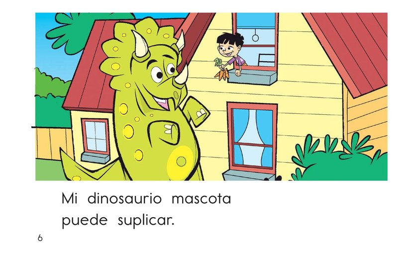 Book Preview For My Pet Dinosaur Page 6