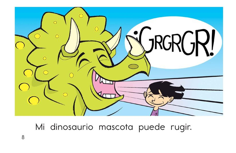 Book Preview For My Pet Dinosaur Page 8