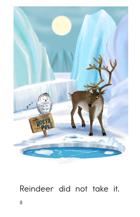 Book Preview For Who Stole the North Pole? Page 8