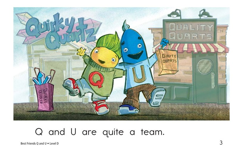 Book Preview For Best Friends Q and U Page 3