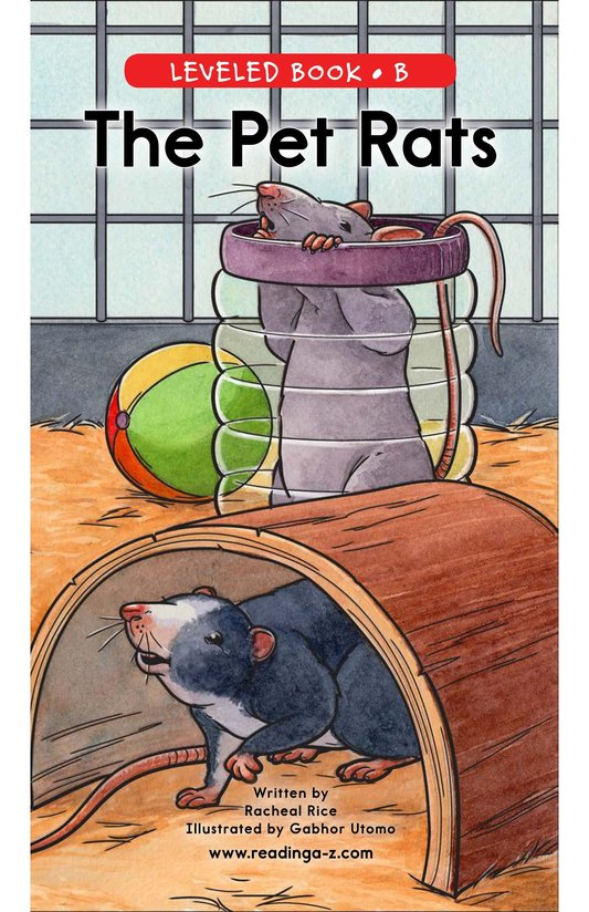 Book Preview For The Pet Rats Page 0