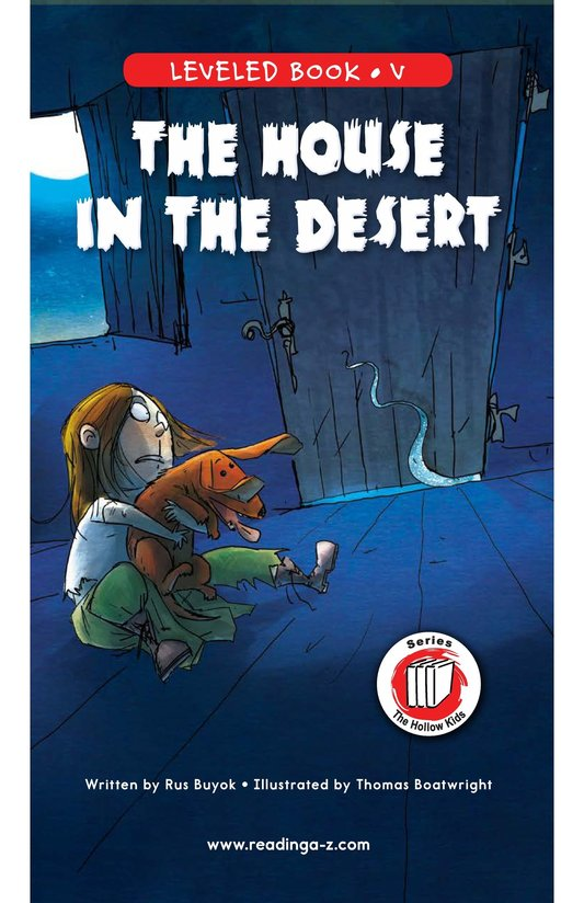 Book Preview For The House in the Desert Page 0