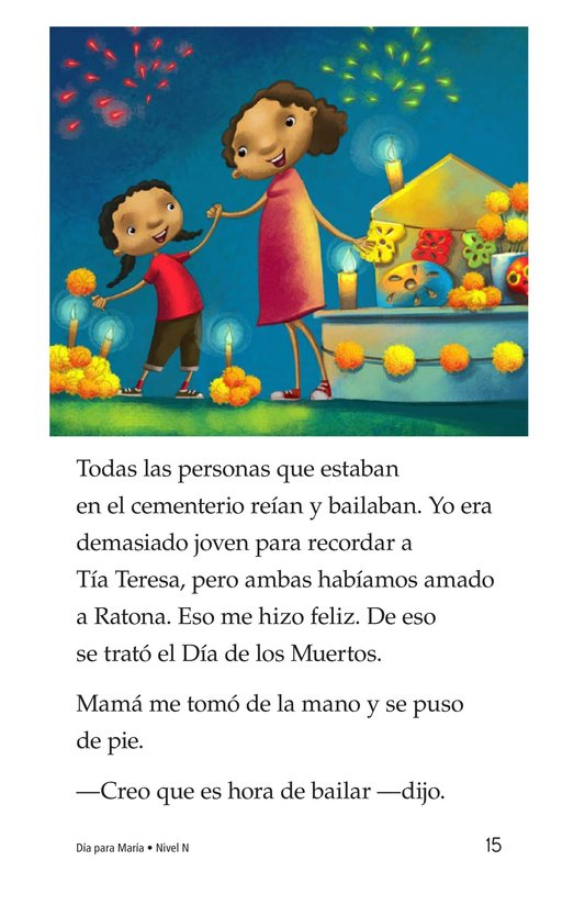 Book Preview For Día for María Page 15