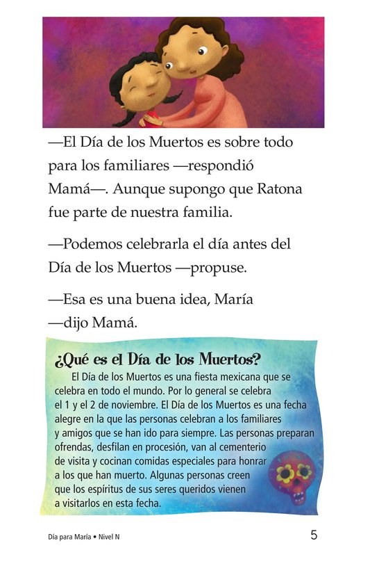Book Preview For Día for María Page 5