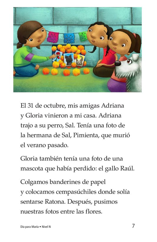 Book Preview For Día for María Page 7