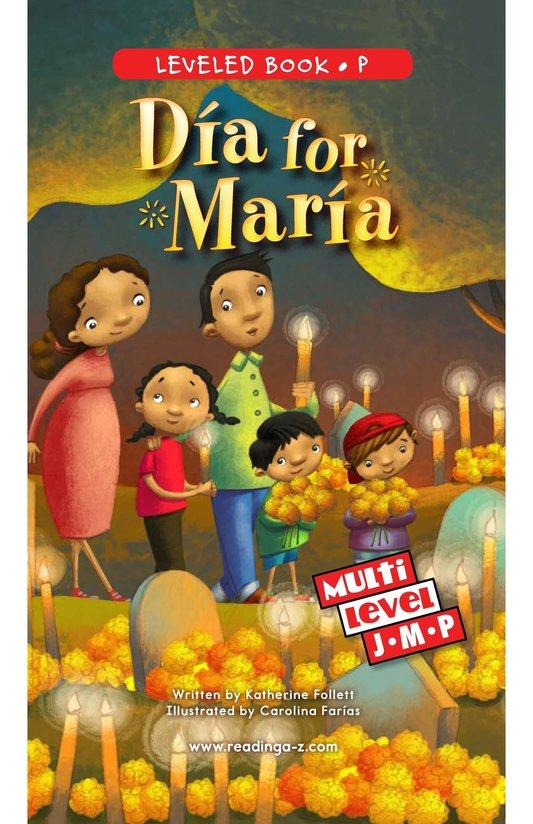 Book Preview For Día for María Page 0