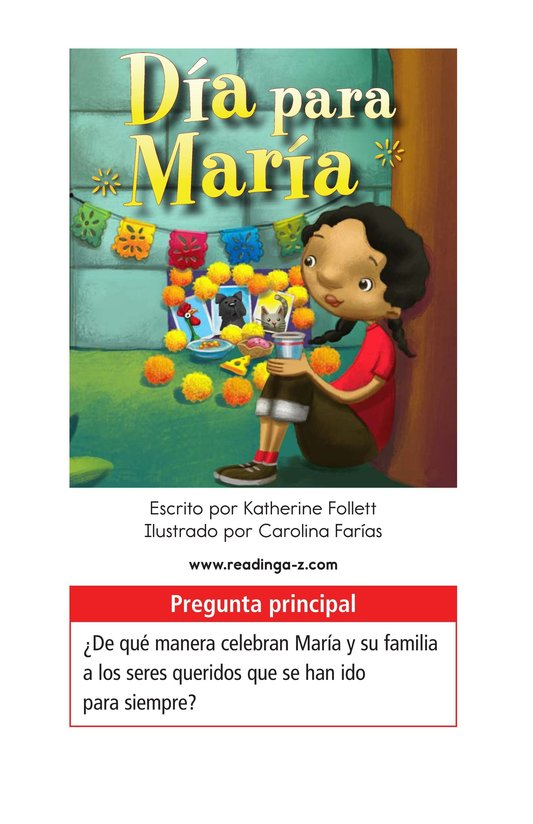 Book Preview For Día for María Page 1
