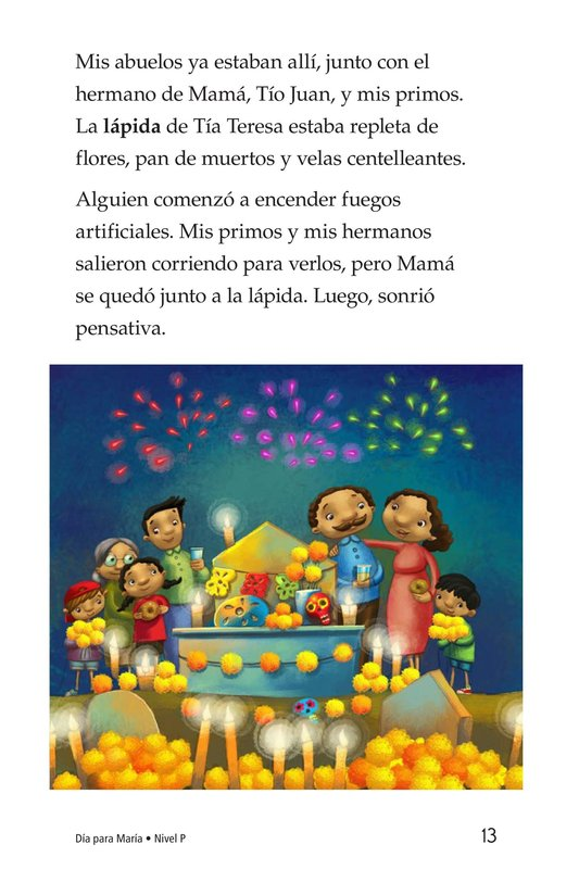 Book Preview For Día for María Page 13