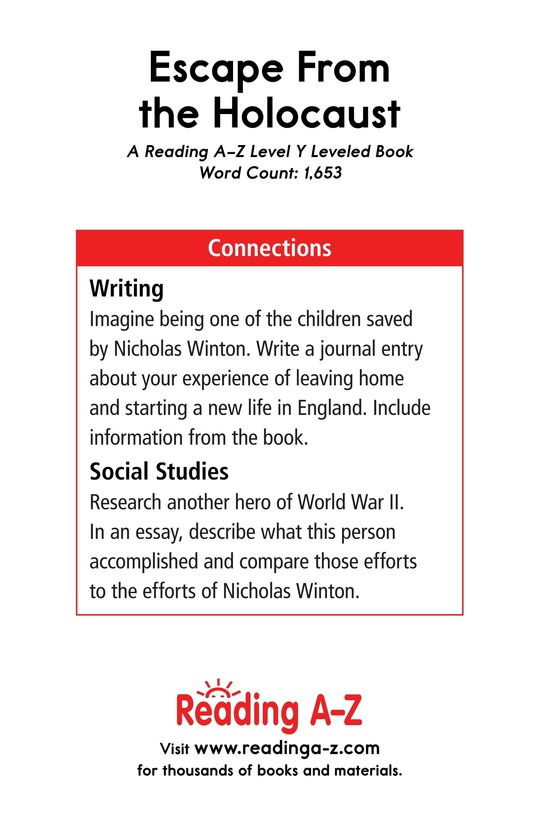 Book Preview For Escape From the Holocaust Page 21