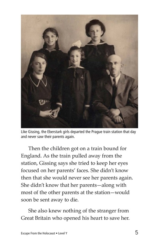 Book Preview For Escape From the Holocaust Page 5