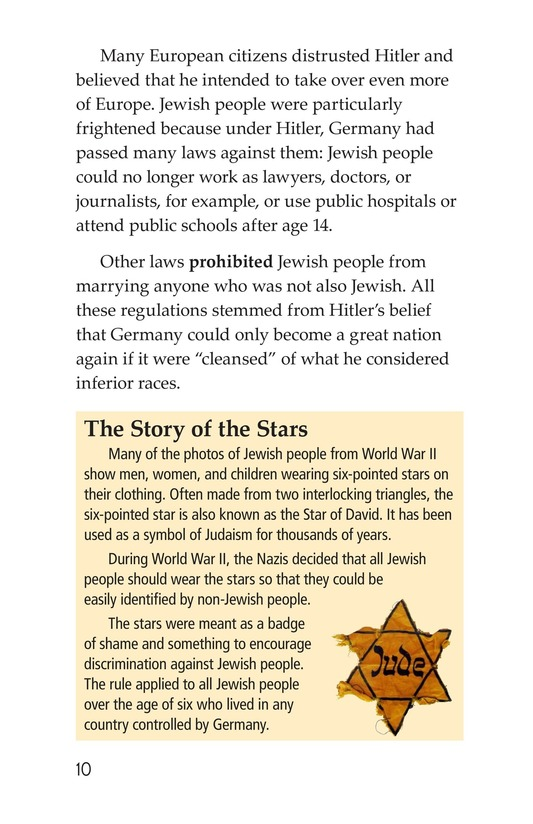Book Preview For Escape From the Holocaust Page 10