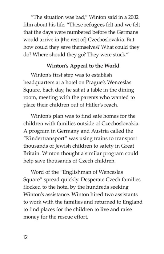 Book Preview For Escape From the Holocaust Page 12