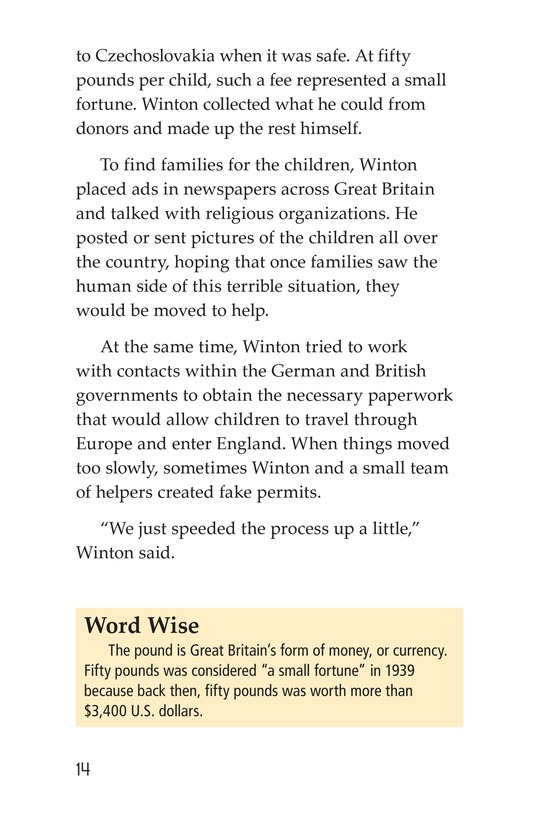 Book Preview For Escape From the Holocaust Page 14