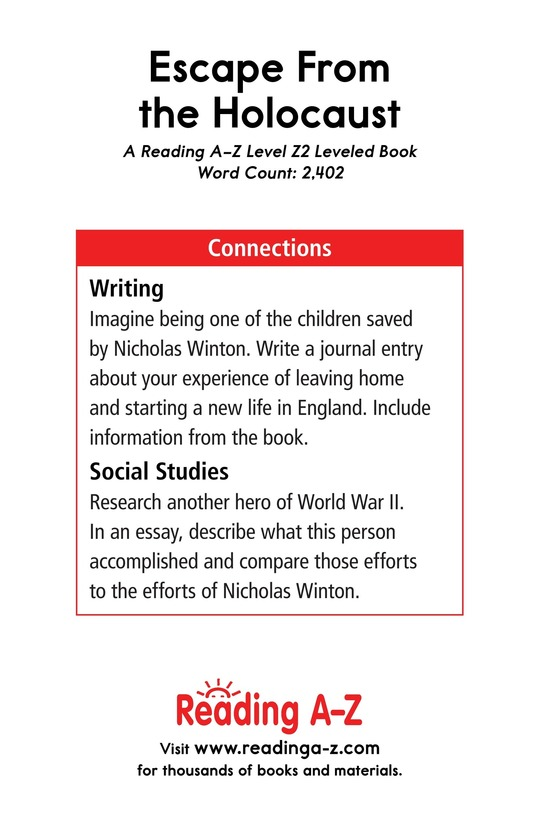 Book Preview For Escape From the Holocaust Page 25