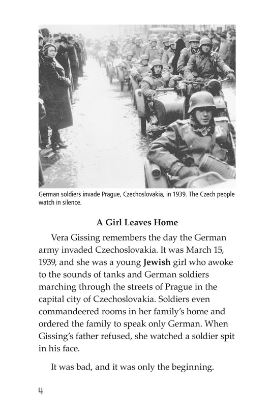 Book Preview For Escape From the Holocaust Page 4