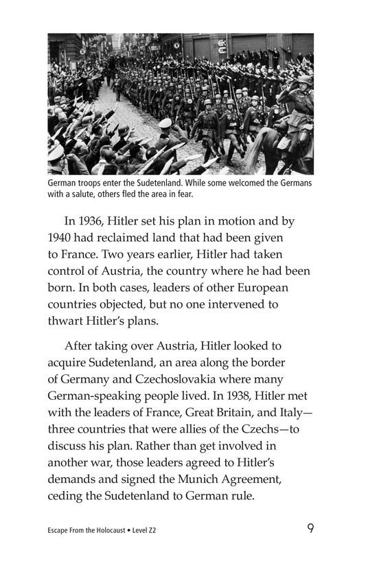 Book Preview For Escape From the Holocaust Page 9