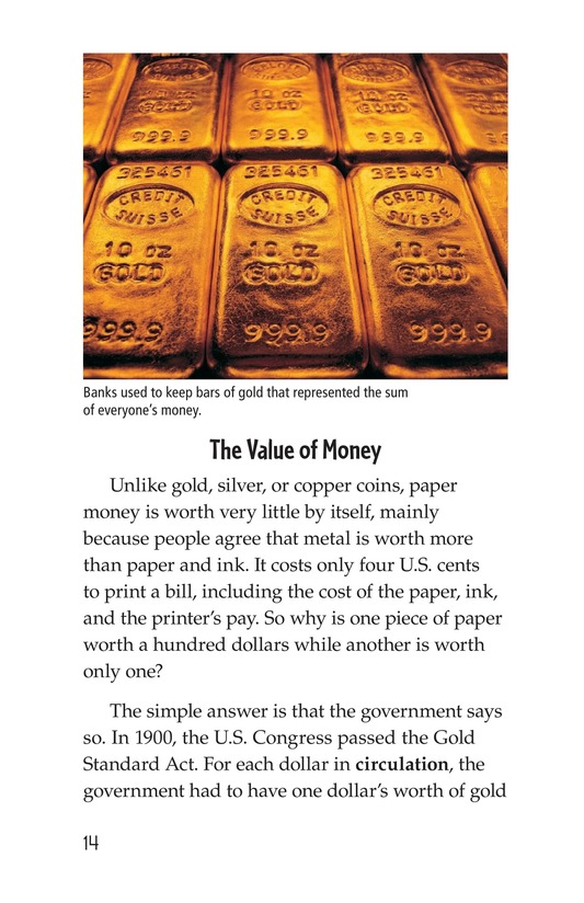 Book Preview For Money, Money, Money Page 14