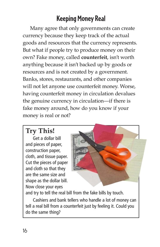 Book Preview For Money, Money, Money Page 16