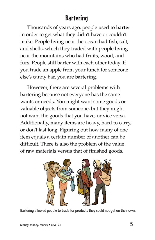 Book Preview For Money, Money, Money Page 5