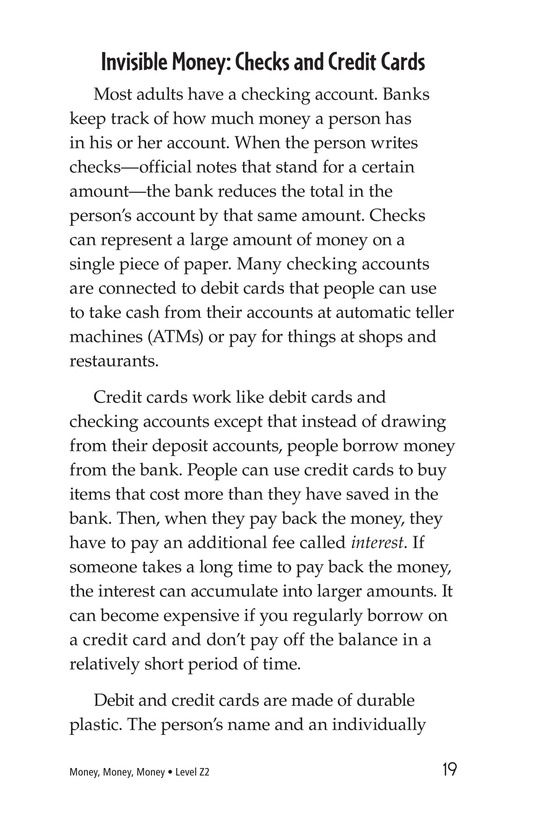 Book Preview For Money, Money, Money Page 19