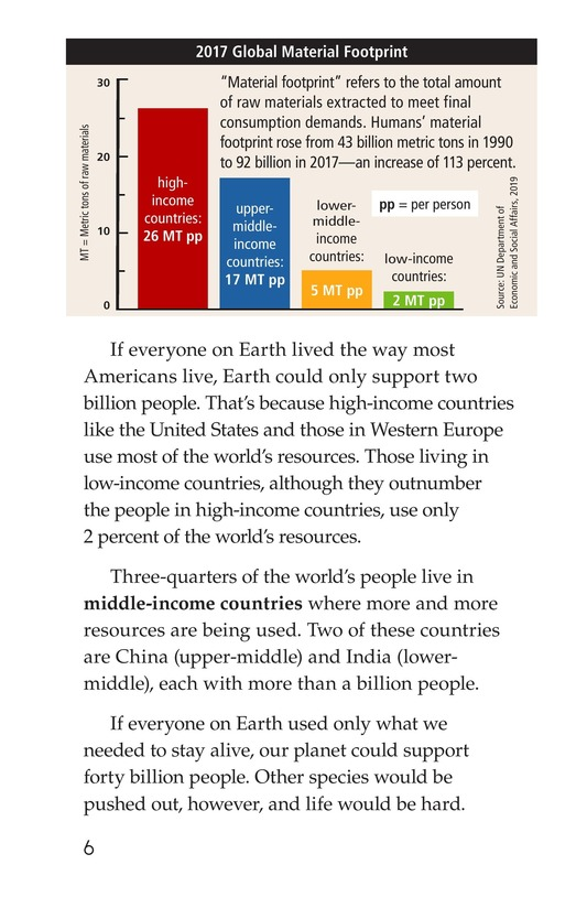 Book Preview For Seven Billion and Counting Page 6