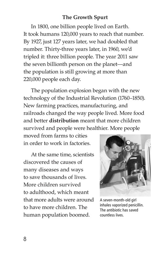 Book Preview For Seven Billion and Counting Page 8