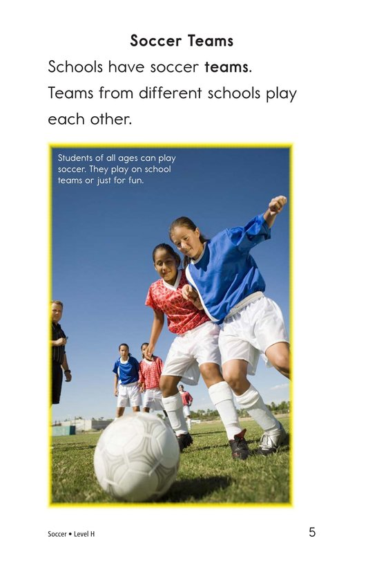 Book Preview For Soccer Page 5