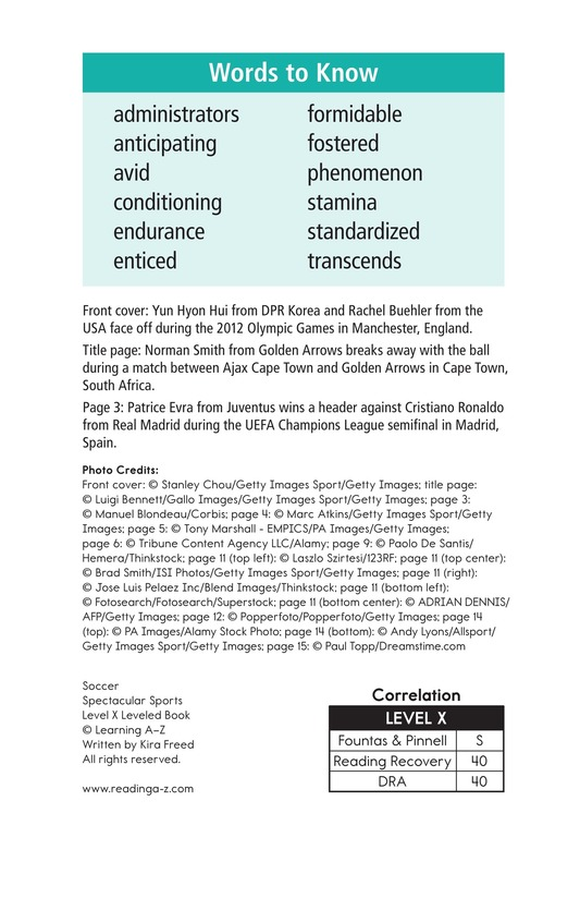 Book Preview For Soccer Page 2