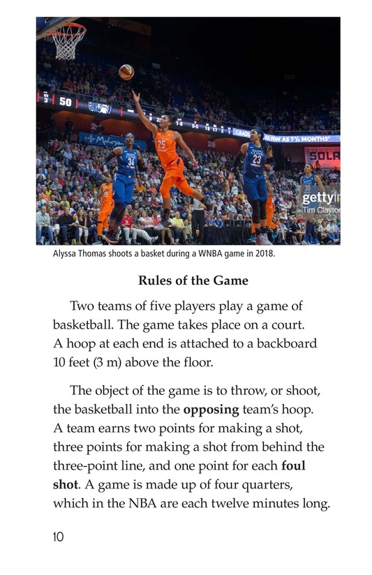 Book Preview For Basketball Page 10