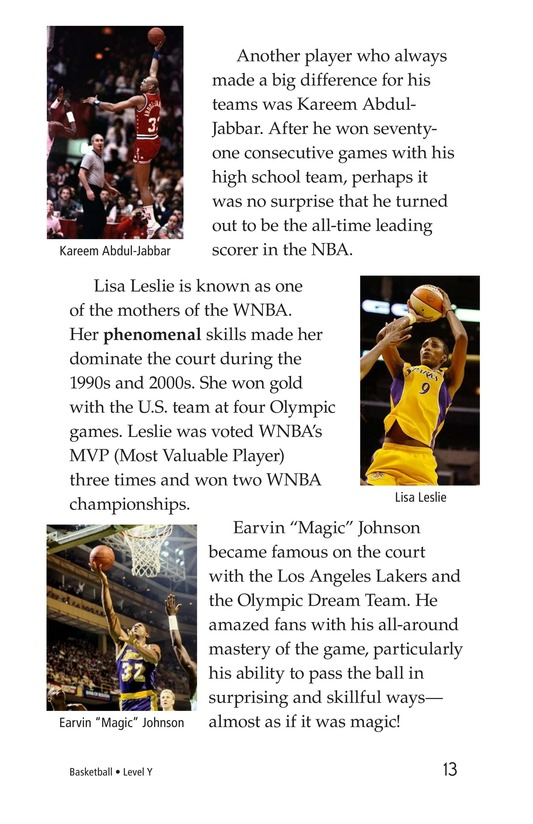 Book Preview For Basketball Page 13