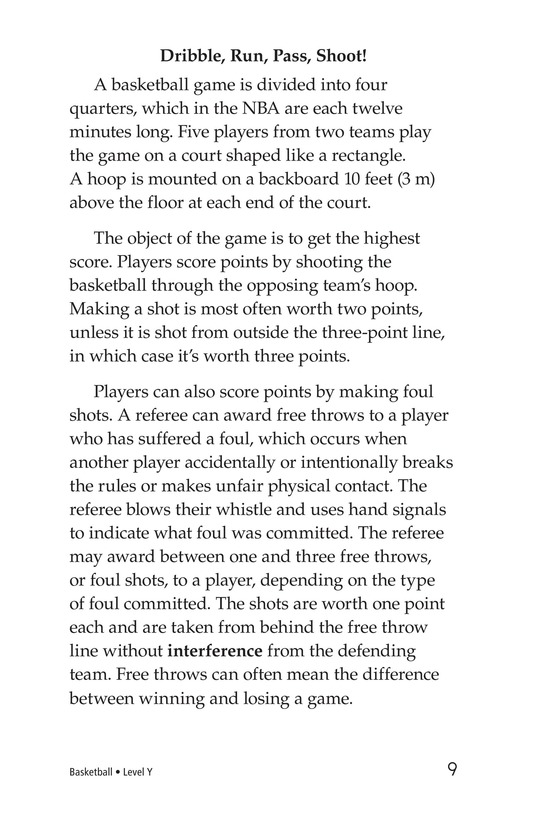 Book Preview For Basketball Page 9