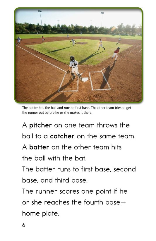 Book Preview For Baseball Page 6